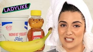 Women Try DIY Hair Masks • Ladylike
