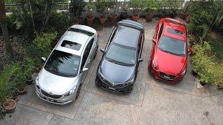DRIVEN 2014 #5: Mazda 3 vs Toyota Corolla Altis vs Kia Cerato