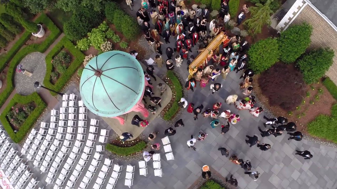 Indian Wedding Aerial Videography