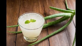 Drink Aloe Vera Juice For 3 Days and This Will Happen To Your Body