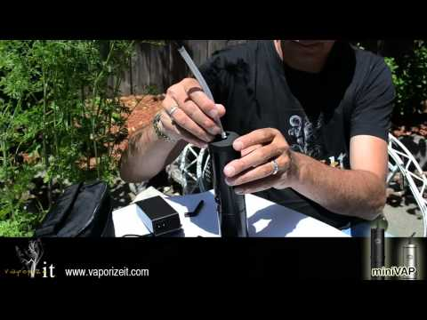 Vaporizer MiniVAP – How to Use Portable Vaporizer MiniVAP Instructional Video / Oakland, CA