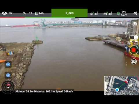 DJI P3S 04 Mar Ventspils Port Screen