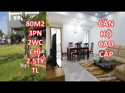 Bán chung cư, căn hộ gò vấp cao cấp 3 phòng ngủ 80m2 2 WC Full nội thất 2.5 tỷ tl