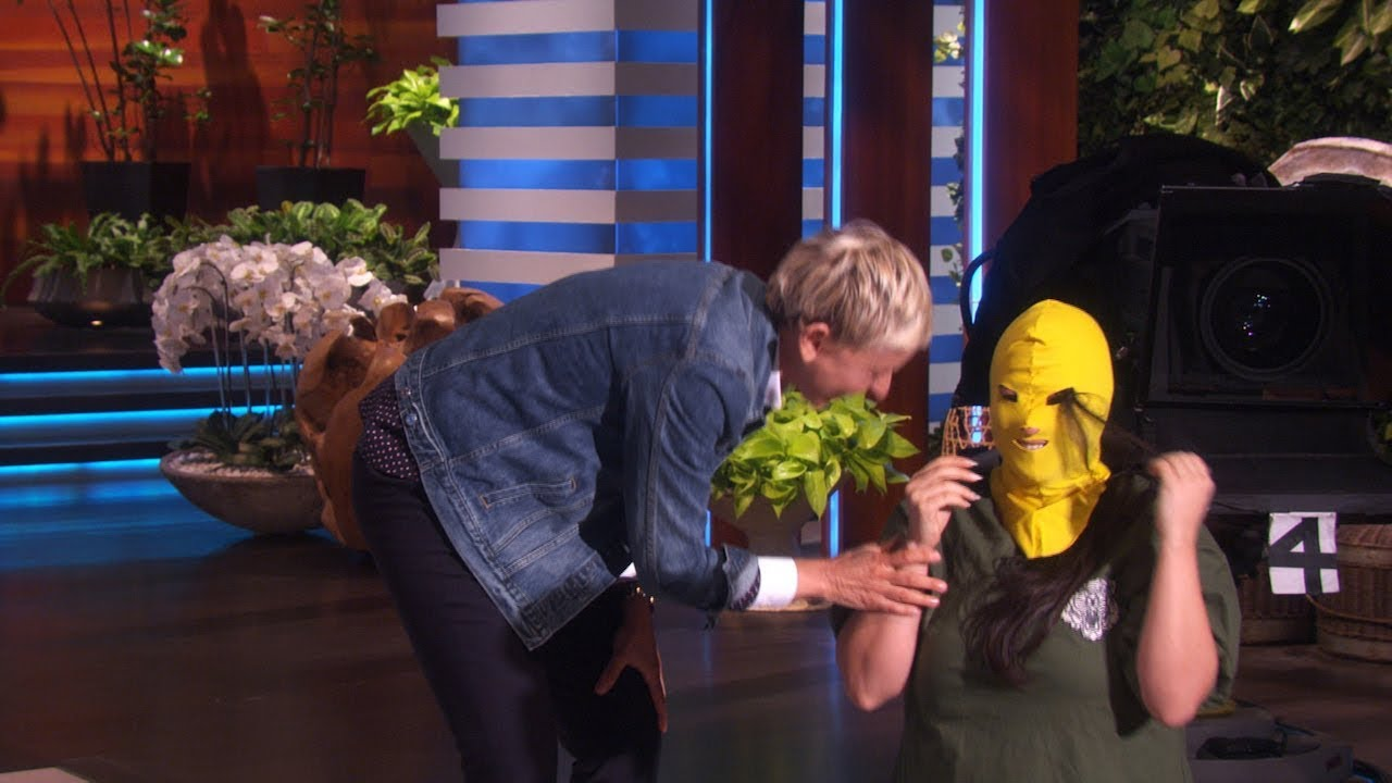 Download Ellen Looks Back at When Things Didn't Go As Planned