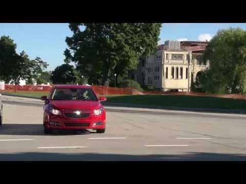 Cadillac CTS Vehicle-to-Vehicle V2V Communication Technology