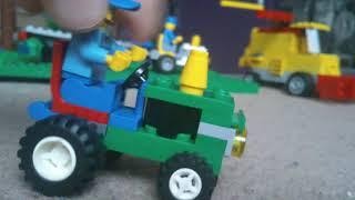 Makieta lego maszyny rolnicze