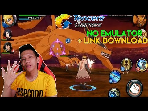 5 Game Naruto Terbaik Di Android (No Emulator) + Link Download !