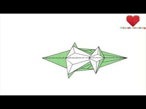 How to Fold an Origami Paper Crocodile   Origami Crocodile