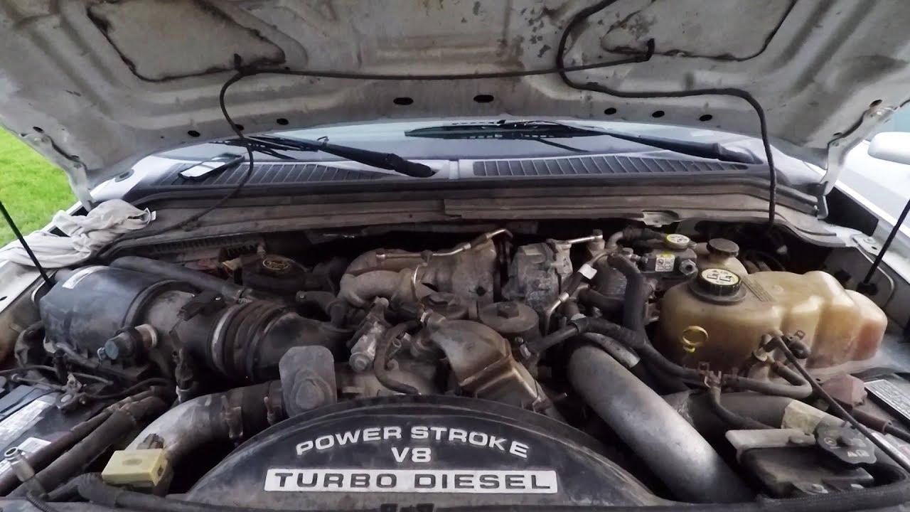 ford powerstroke 6 4 oil change [ 1280 x 720 Pixel ]