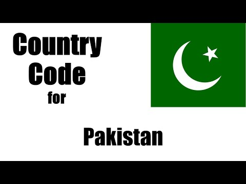 Pakistan Dialing Code - Pakistani Country Code - Telephone Area Codes In Pakistan