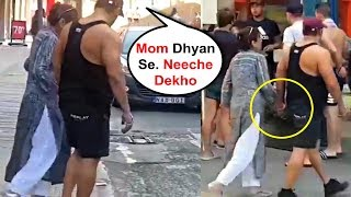 Salman Khan Shows Love And Care To Mom Salma Khan In Public