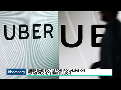 Uber Said to Plan IPO Valuation of as Much as $90 Billion