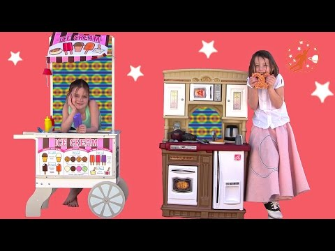 Step2 Fresh Market Kitchen & Melissa Doug Snacks & Sweets Toy Food Cart