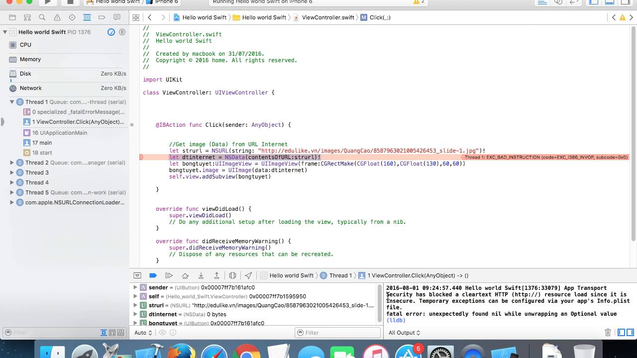 XCode Fix Issue: App Transport Security has blocked a cleartext HTTP  Stack  Overflow