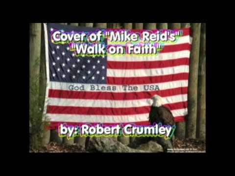 """Cover of Mike Reid's """"Walk on Faith"""""""