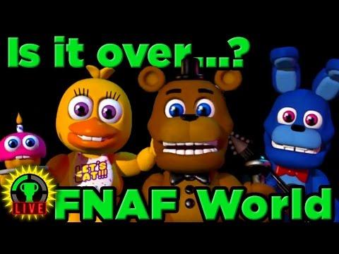 FNAF World - Hot Cheesy Ending! (Part 3)