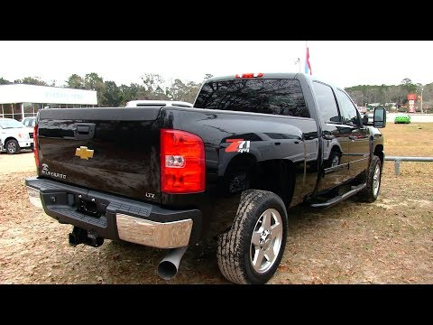 Here's a 2013 Chevrolet Silverado 2500HD Duramax 6.6L w/LTZ Package | REVIEW