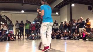 Felicien and Isabelle Kizomba Advanced Demo KIFE Italy 9/12/15