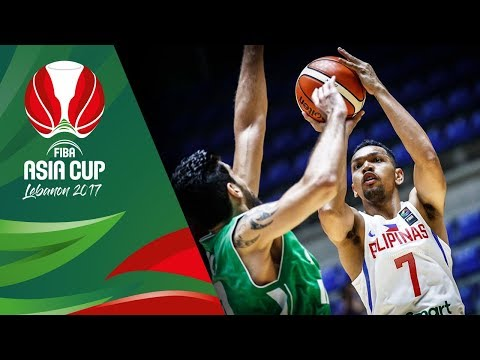 HIGHLIGHTS: Gilas Pilipinas vs. Iraq (VIDEO) FIBA Asia Cup 2017 | August 11
