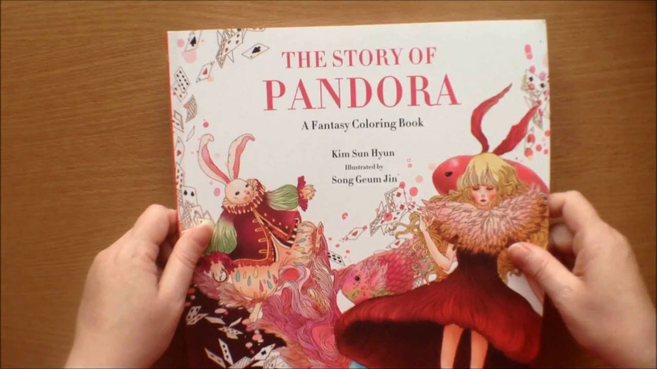The Story of Pandora by Kim Sun Hyun / Song Geum Jin Colouring ...
