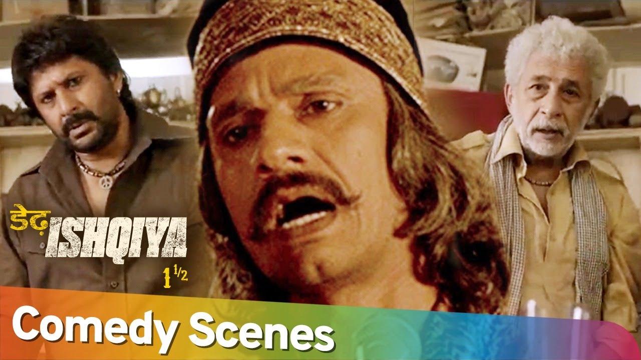 Download Best of Hindi Comedy Scenes | Movie Dedh Ishqiya | Arshad Warsi - Vijay Raaz - Naseeruddin Shah