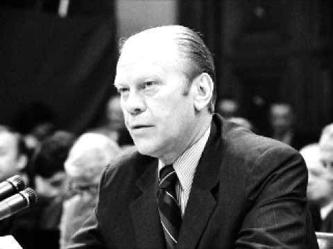Gerald Ford interview Part 1 of 2