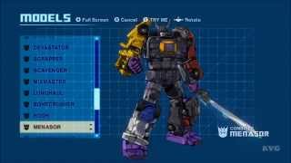 Transformers: Devastation - All Transformations (Autobots | De…