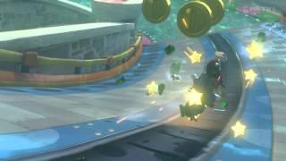 Mario Kart 8 - Water Park (Epic Trick Shot @ 0:10)