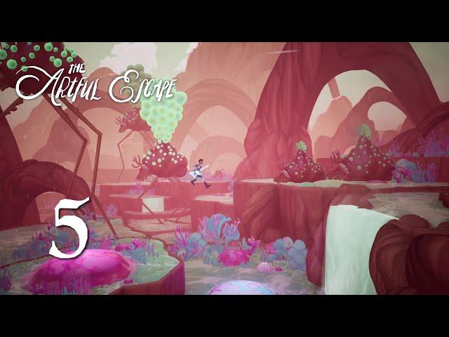 Ep 5 - Lumiere Violente (The Artful Escape gameplay)