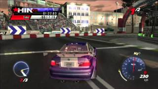 Juiced 2 - Supercar Pink Slip Race - BMW M3 GTR vs. BMW M3 GTR
