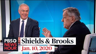 Shields and Brooks on Iran conflict, impeachment trial standoff