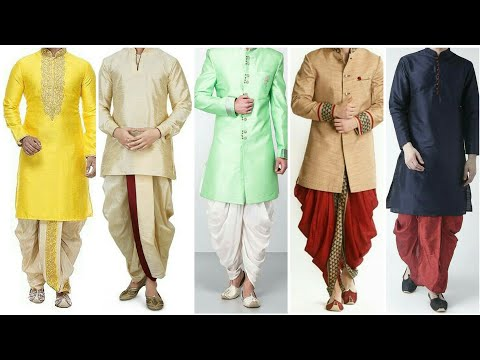 Dhoti Kurta Design For Men 2019-20 || Dhoti Kurta Boys Fashion 2019-20 | Indian Style Dhoti Kurta