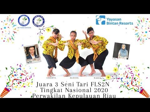 Juara 3 Seni Tari FLS2N Tingkat Nasional 2020