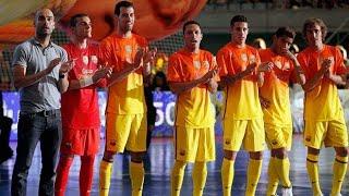 jogadores do barcelona no futsal  freestyle futebol arte