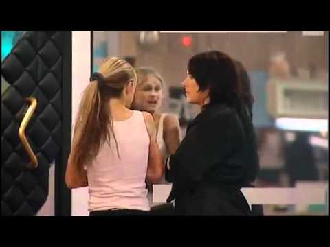 Nikki angry with Pete and Aisleyne