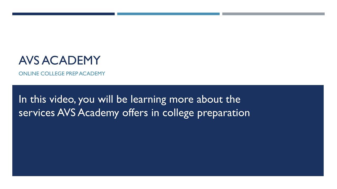 AVS Academy
