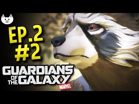 Guardians Of The Galaxy Telltale - ROCKET'S SAD PAST - (Guardians Of The Galaxy Game Episode 2 #2)