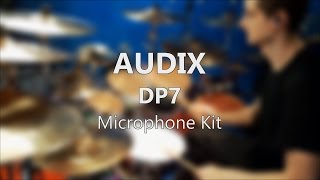 New AUDIX Microphone Kit DP7