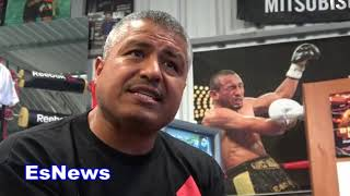 robert garcia what people are telling him about mikey garcia EsNews Boxing