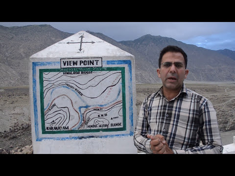 Junction Point of Three mightiest mountain ranges of the world
