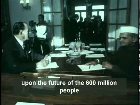 Lal Bahadur Shastri - Meeting in Tashkent 1966