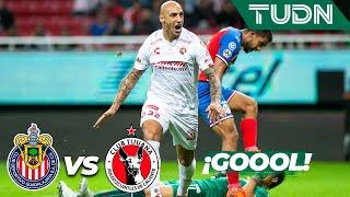 ¡Gool de Nahuelpán | Guadalajara 0 - 1 Tijuana | Liga MX - Apertura 2019  - Jornada 16 | TUDN
