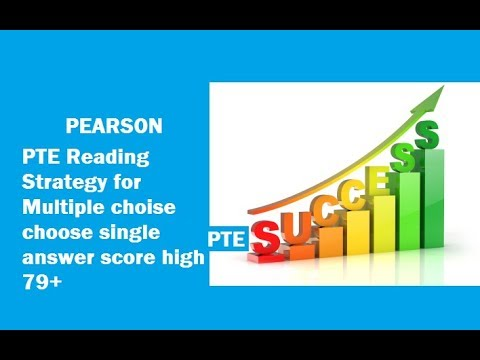 PTE Reading test strategy: MULTIPLE CHOICE, CHOOSE SINGLE ANSWER with Bharat Bhushan! To Score 79+