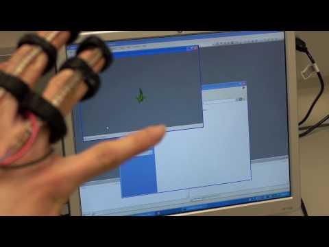 Data glove demo
