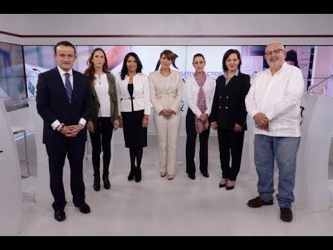 Primer Debate de los candidatos a jefatura de gobierno de la CDMX Parte 1