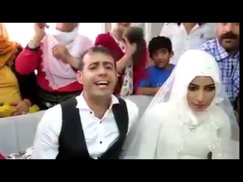 Mardinli damat düğününde söylediği şarkıyla gelini ağlattı