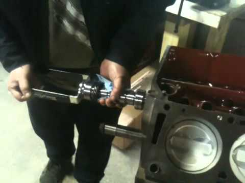 Comp cams 390 camshaft install - YouTube
