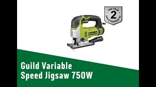 4578624 Guild Variable Speed Jigsaw   750W