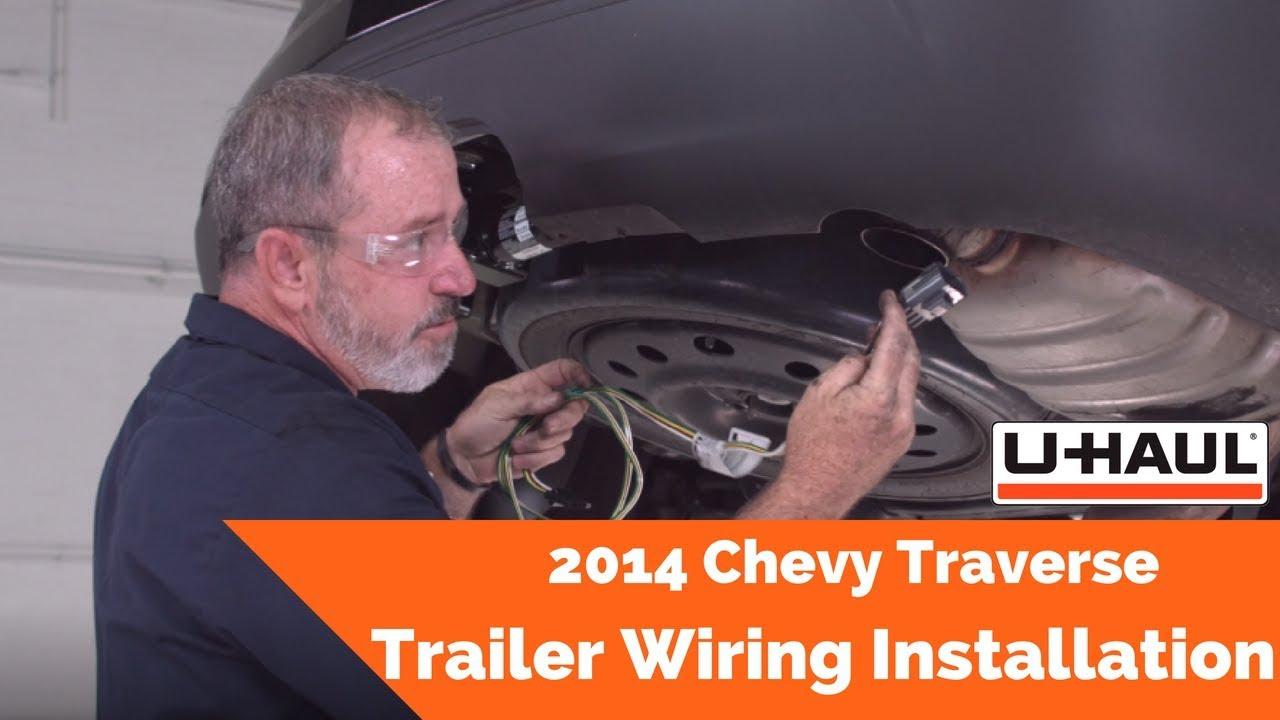 2014 Chevy Traverse Trailer Wiring Installation - YouTube | Chevrolet Traverse Trailer Wiring Diagram |  | YouTube