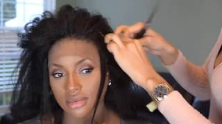 HOW TO: GLUELESS LACE FRONTAL SEW IN TUTORIAL *DETAILED*